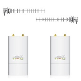 UBIQUITI Rocket M900 Pair + Pol 2 Pack Yagi Antenna COLUMBIA SHI